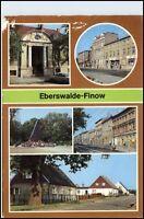 EBERSWALDE FINOW Mehrbild-AK DDR Reichenbach Verlag, Postkarte