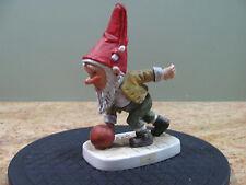 Goebel Gnome Co-Boy 17526-17 TMK 5 1975 Jim The Bowler Gnome Goebel, USC#181