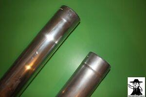 Fallrohr Regenrohr Ablaufrohr Zink Titanzink 1 m lang 100 mm 80 mm Durchmesser