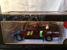 JEFF GORDON #24 NASCAR Diecast TAHOE CHEVY DUPONT CHROMALUSION 1/25