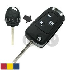 Flip Key Shell + Key Blank refit for FORD C-Max Festiva Focus Remote Key Fob 3 B