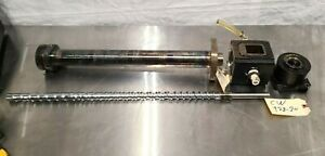 Screw & Barrel with Throat Assembly for Extruder Extruding Machine Complete Set