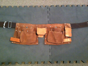 US Military Carpenter's Surplus Toolbelt Atchison Leather NEW!