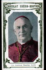 IMAGE CHOCOLAT GUERIN BOUTRON Cardinal Louis MAURIN Archeveque de LYON MARSEILLE