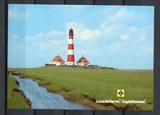 s15366) GERMANY Westerheversand Lighthouses MAXICARD LIGHTHOUSES - FARI