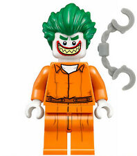NEW JOKER MINIFIG prison jumpsuit 70912 batman movie arkham asylum minifigure