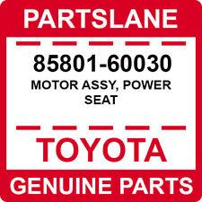 85801-60030 Toyota OEM Genuine MOTOR ASSY, POWER SEAT