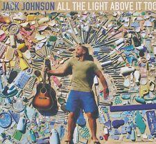 Jack Johnson All The Light Above It Too CD NEW digipak Subplots Daybreaks