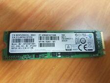 Samsung 256GB M.2 SSD MZHPU256HCGL MZ-HPU256T/0H1 HP P/N 752821-001