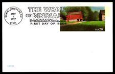 USA DINOSAURS DINOSAURIER DINOSAURE PALEONTOLOGY PREHISTORY FOSSILS FOSSIL dk87