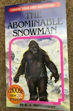 (3) Young Reader Books Abominable Snowman, Ghost&Others, Two Minute Mysteries