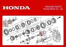GENUINE HONDA TRANSMISSION GEARBOX BEARINGS SET HONDA S2000 AP1 AP2 F20C F22C