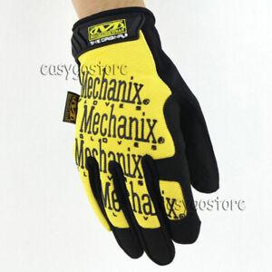 NEW Mechanix Wear Tactical Gloves Military Shooting Bike Race Sports Mechanic