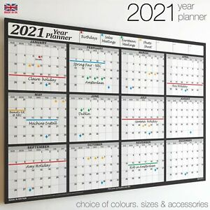 Wall Calender ✔2021✔2022✔2023 Year Planner 12 Months Chart✔Holidays✔Staff✔Office