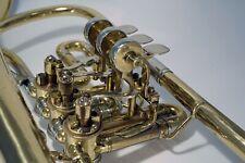 B-Flügelhorn der Marke Dotzauer Goldmessing...wunderschöner Ton.
