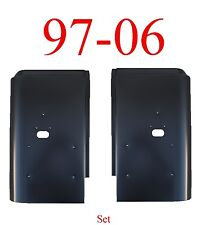 97 06 Jeep Wrangler TJ Rear Corner Panel Set, Tail Light Section Both Sides Pair