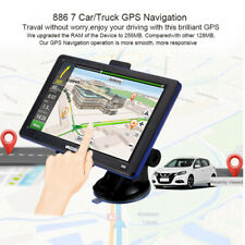 "7"" Car GPS Bluetooch Navigator 8GB Navigation System Sat Nav Free AU US EU Maps"
