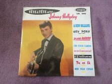 CD EP Single JOHNNY HALLYDAY - tete a tete NEUF
