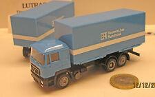 """Herpa 141956: MAN F 90 camiones de remolque de intercambio """"Bávaro Rundfunk"""""""