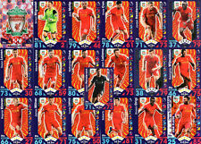 Match Attax 2016/17 Liverpool - Topps Base football Cards 2017 16/17