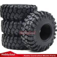 4pcs RC 2.2 Crawler Tires Tyre 139mm Fit RC 4WD Axial 2.2'' Beadlock Wheels Rim