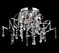 Kristall Kronleuchter Deckenleuchte Lüster Leuchte Ø50cm Wohnzimmer Deckenlampe