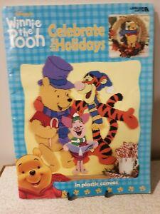 Disney Winnie the Pooh Celebrate the Holidays Plastic Canvas Craft Leisure Arts