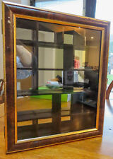 Small Mirror Backed Display Cabinet..Table Top or Wall Mounted...
