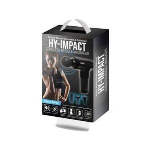 HY-IMPACT Deep Tissue Muscle Massage Gun - Cordless Muscle Massager