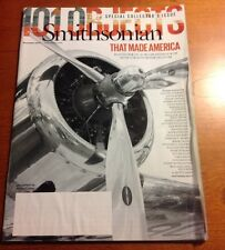 """SMITHSONIAN SPECIAL COLLECTOR'S ISSUE NOVEMBER 2013 """"THAT MADE AMERICA"""""""