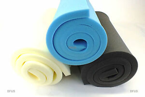 """UPHOLSTERY FOAM SHEET. LOW / MEDIUM / HIGH DENSITY. 80"""" x 20"""" ANY THICKNESS SIZE"""