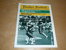 1985 YOUNGSTOWN STATE AT NORTHERN IOWA  COLLEGE FOOTBALL PROGRAM EX-MINT