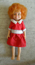 """Vintage 1982 Knickerbocker Anne Character Girl Doll in Outfit 5 3/4"""" Tall"""