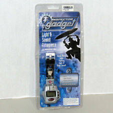 RARE Inspector Gadget Watch Disney Light & Sound Timepiece IGLC03 *NEW*