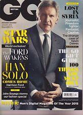 GQ British Revista Enero 2016 , The Ford Awakens, No-Label