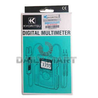 Brand New Kyoritsu 2000 Digital Multimeter AC/DC Clamp Tester Electrical Guide