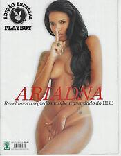 WOW!!! ARIADNA BRAZIL PLAYBOY MAGAZINE SPECIAL EDITION APRIL 2011