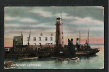 Scarborough Lighthouse 1915 ? Postcard  Yorkshire