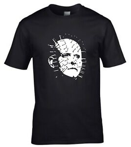 Pinhead Hellraiser 1980s Horror Devil Demon Movie T-shirt