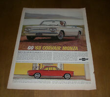 1960's CAR AUTOMOBILE LIFE MAGAZINE AD PRINT - YOU PICK - FORD CORVAIR CADILLAC