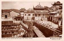 Penang, Ayer Itam Temple Overview, Donation Request On Back, Rppc, c. 1930's