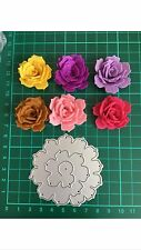 D30 Rolled Thinlits Flower Cutting Dies For Sizzix Spellbinders Xcut Etc. Cutter