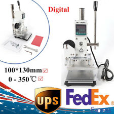 Leather Hot Foil Stamping Embossing Machine 3.93
