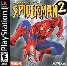 NEW Spider-Man 2 Enter: Electro Sony PlayStation PS1 FACTORY SEALED w. Tab