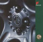 CAR PRICE LIST BROCHURE - MGF - DECEMBER 1997