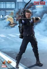 "Hot Toys 1/6 12"" MMS358 Hawkeye Captain America Civil War Jeremy Renner Figure"