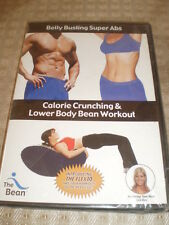 NEW The Bean Belly Busting Super Abs, Calorie Crunching & Lower Body Bean DVD