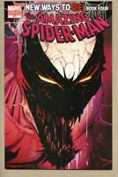 Amazing Spider-Man #571-2008 vf- 7.5 1st variant cover John Romita Jr