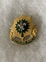 Authentic US Army 2nd Cavalry Regiment DI DUI Unit Crest Insignia G23