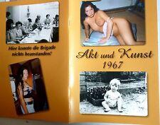 1967 ddr AKt & Kunst mit 200 foto NACKT jung frau girl mädchen behaart busen fkk